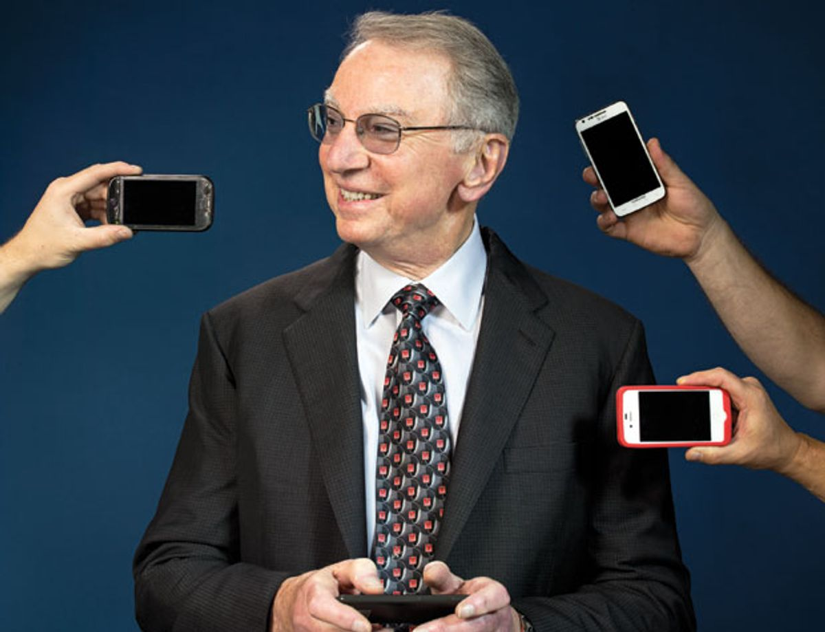 Irwin M. Jacobs, chief executive officer of Qualcomm