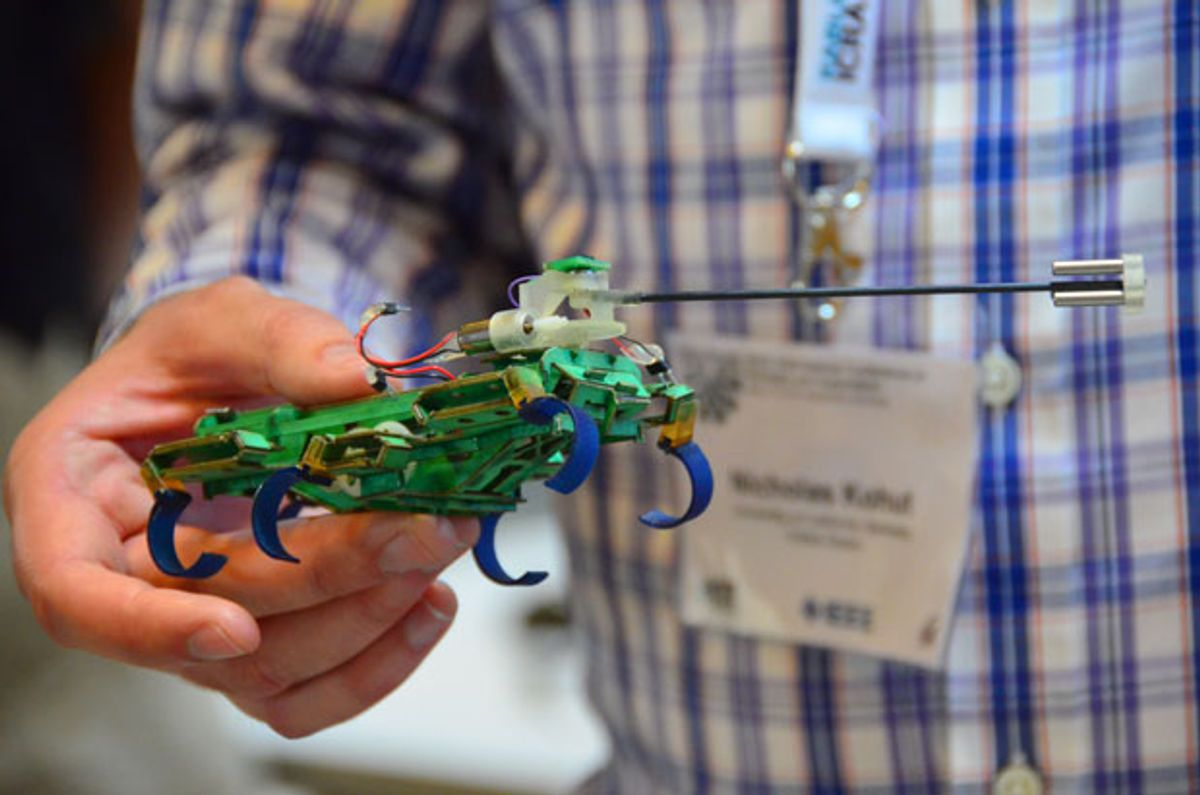 UC Berkeley's Little Legged Robots Grow Wings and Tails