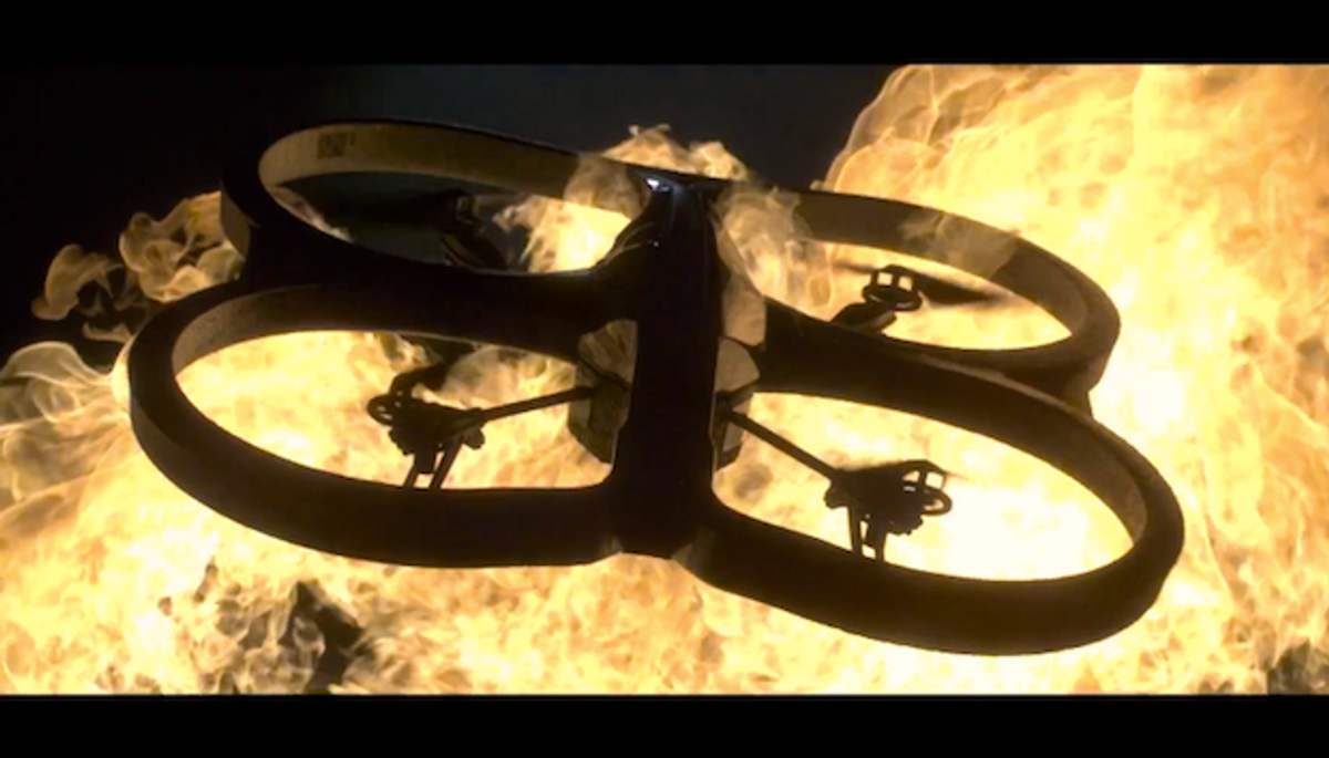 Video Friday: AR Drone Stunt, Real Transformer, and Futurama Justice