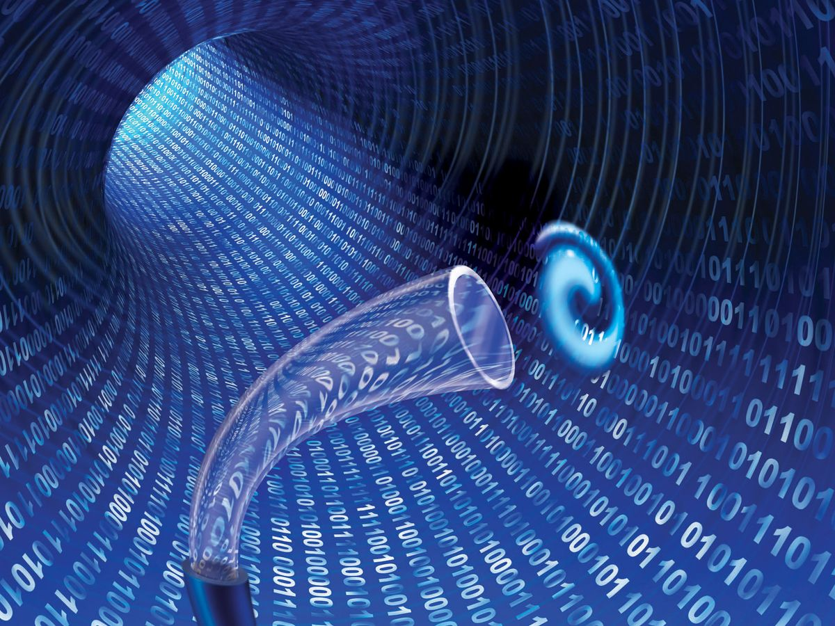 Twisted Light Sends Data Through Optical Fiber for First Time