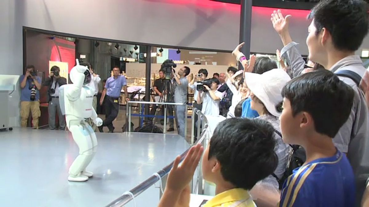 Honda's ASIMO Gets New Job at Museum