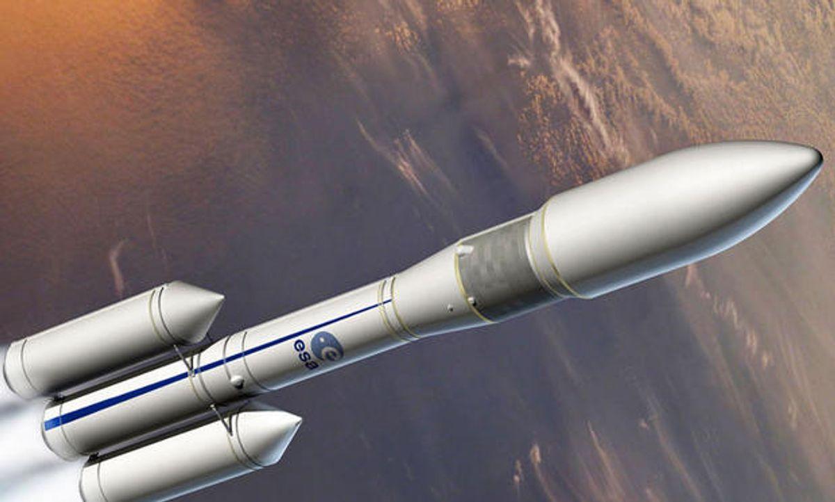 European Space Agency Reveals New Rocket Design