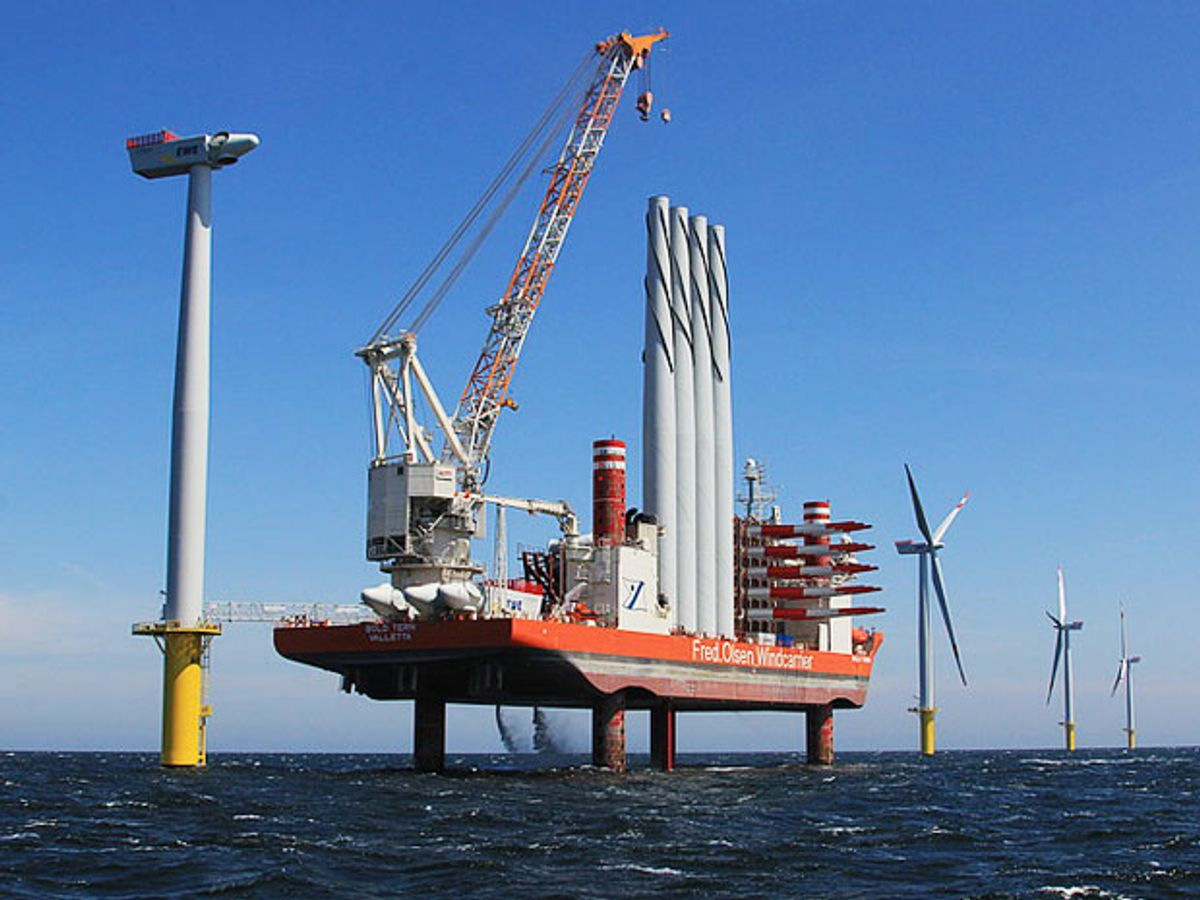 Germany's Largest Offshore Windfarm Hits a Snag