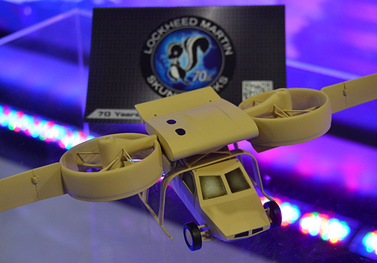 Lockheed Martin Developing Flying Robotic Car Carrier