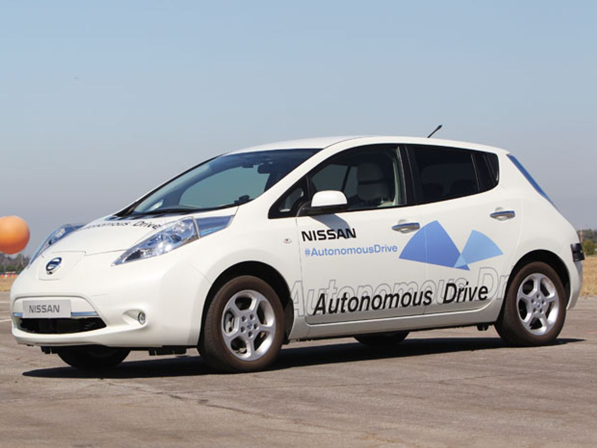 Nissan Says: Leave the Driving to Us