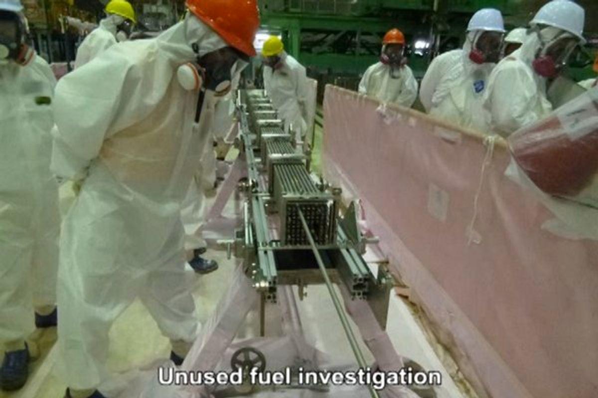 A Video Tour of Fukushima Daiichi