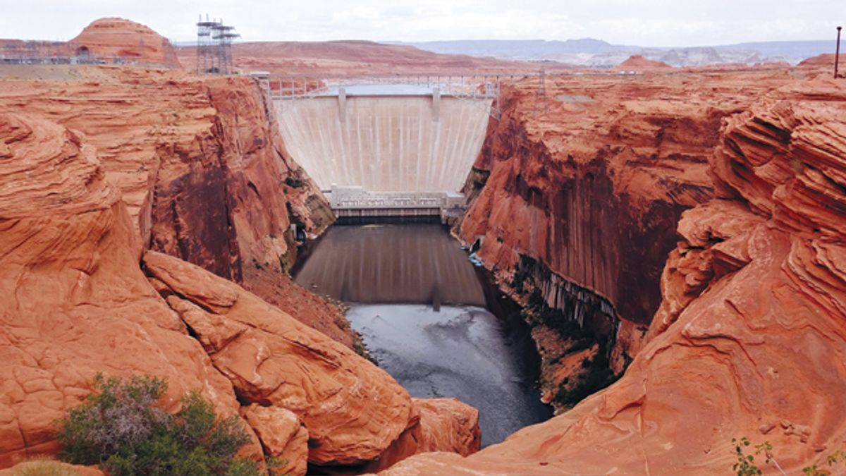 Colorado River Hydropower Faces a Dry Future