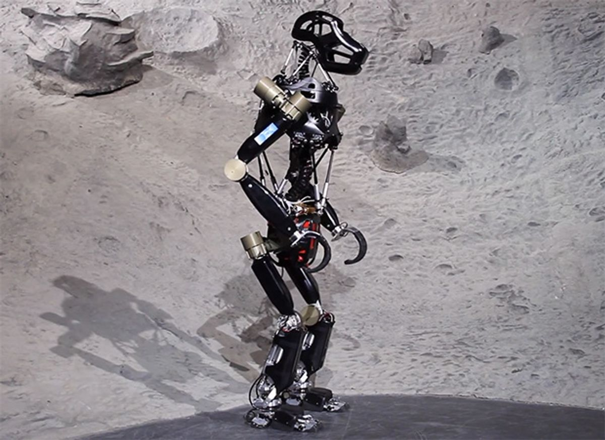 Video Friday: Return of the Robot Ape, Anki Drive Battle Mode, and Why We Love Robots