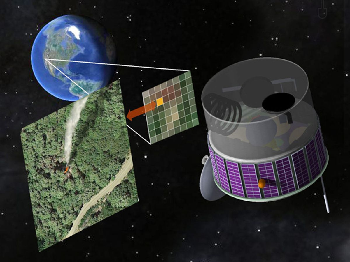 Fire-Spotting Satellite Designed to Help Snuff Out Wildfires