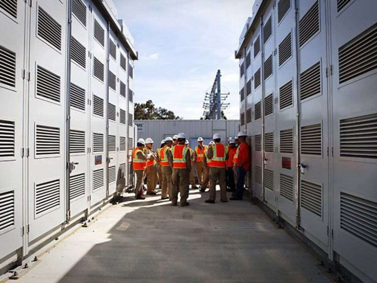 California's First-in-Nation Energy Storage Mandate