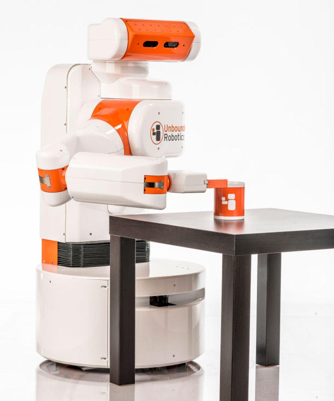 UBR-1 Robot From Unbounded Robotics Revolutionizes Affordable Mobile Manipulation