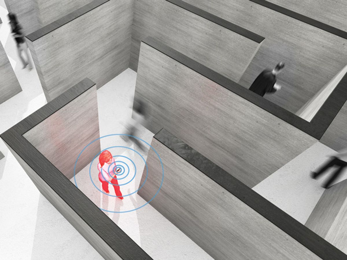 New Indoor Navigation Technologies Work Where GPS Can't