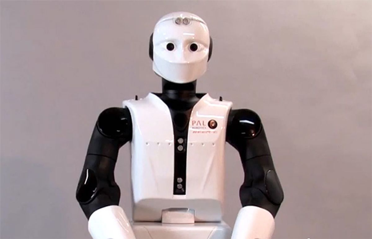 Video Friday: REEM-C, Bots of the Past, and Drones Hear Your Screams
