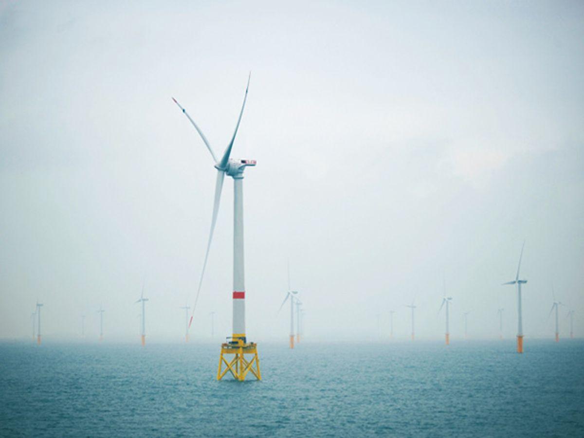 Belgium Claims World's Largest Offshore Wind Turbine