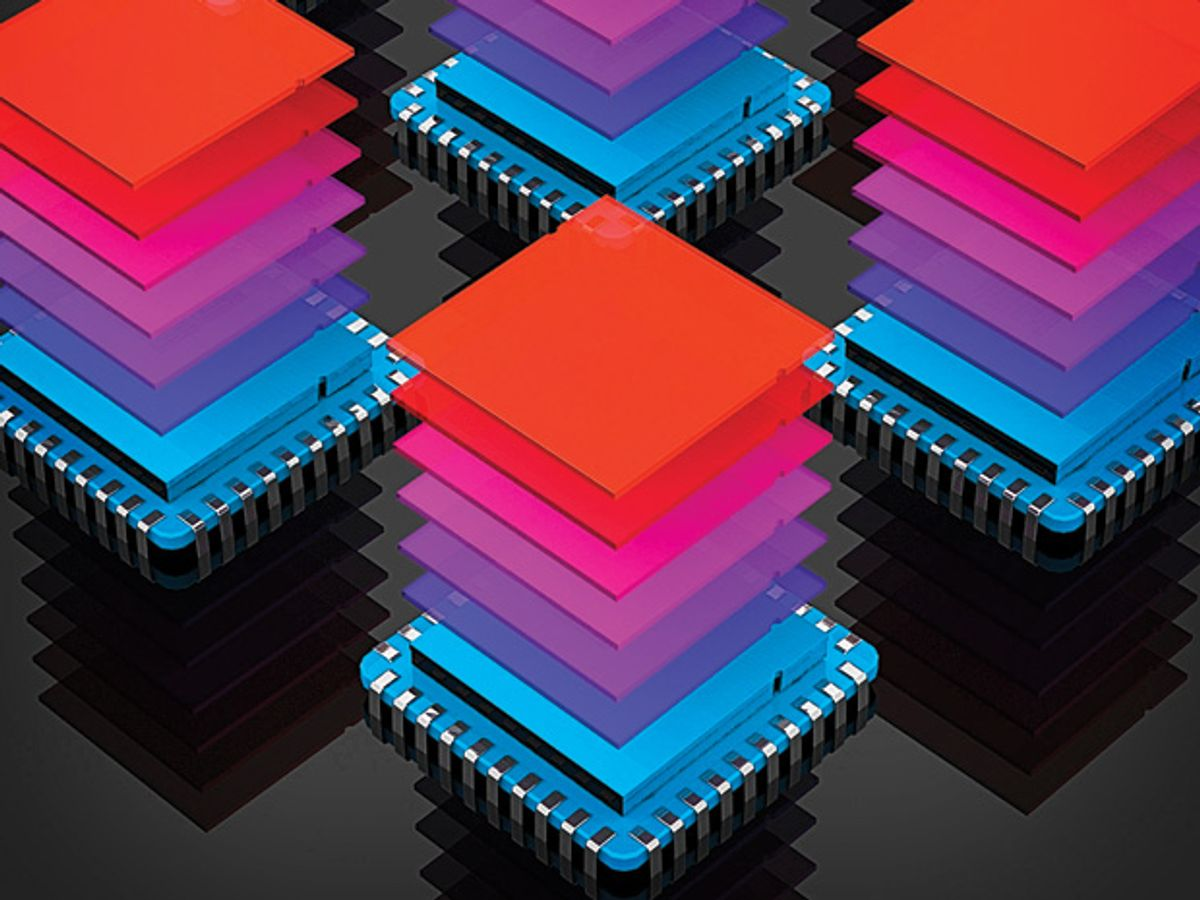Chipmakers Push Memory Into the Third Dimension