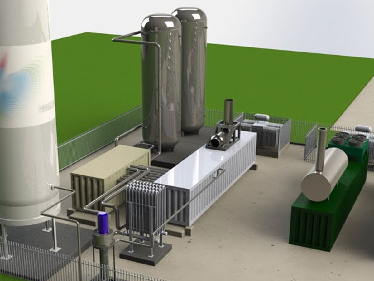 Liquefied Air to Store Energy on U.K. Grid