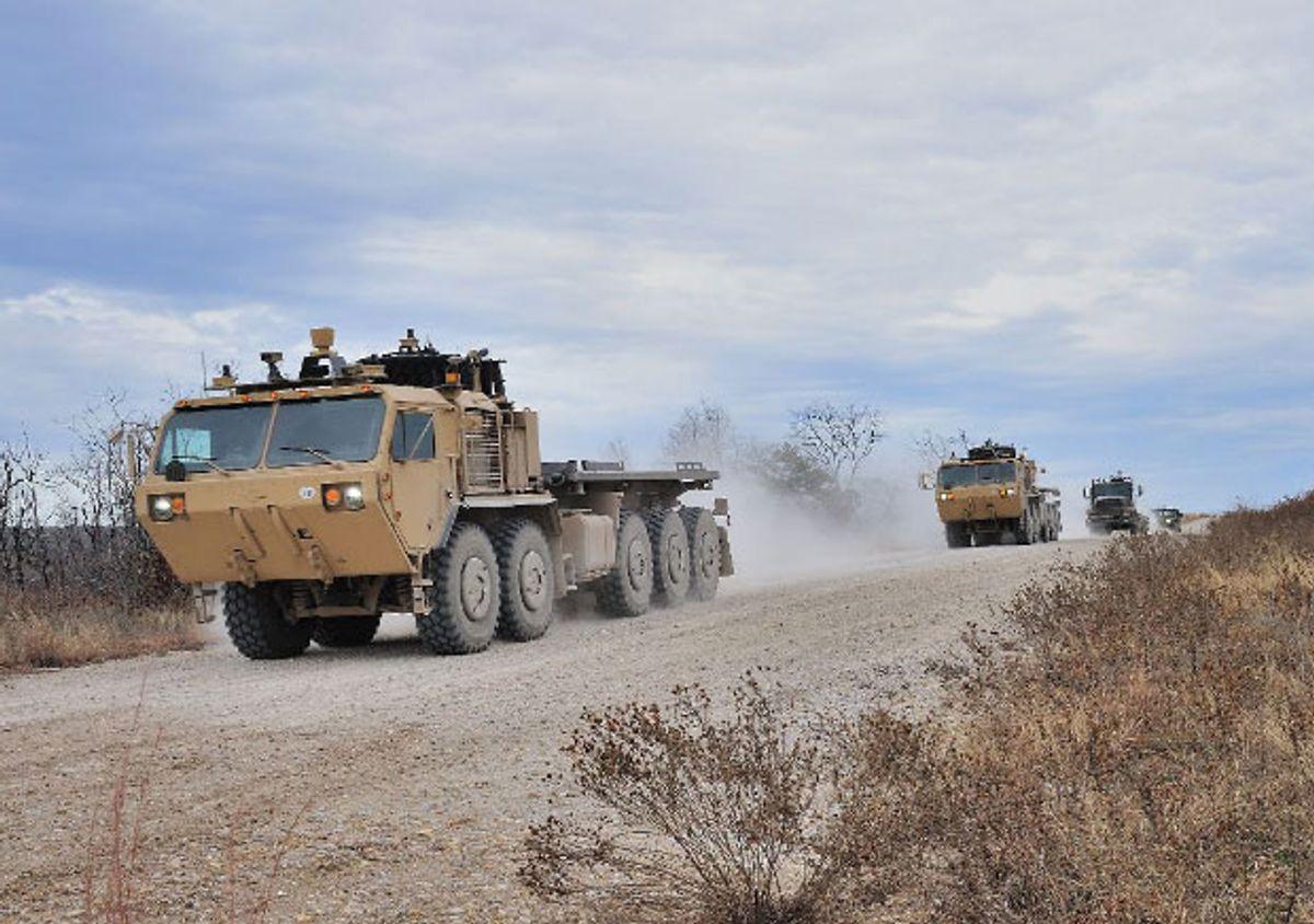Lockheed's Robotic Trucks Pass Real-World Military Convoy Test