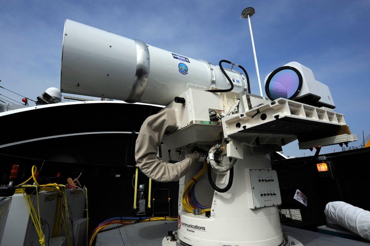 Lockheed Martin Shows Off High-Power Fiber Laser Weapon