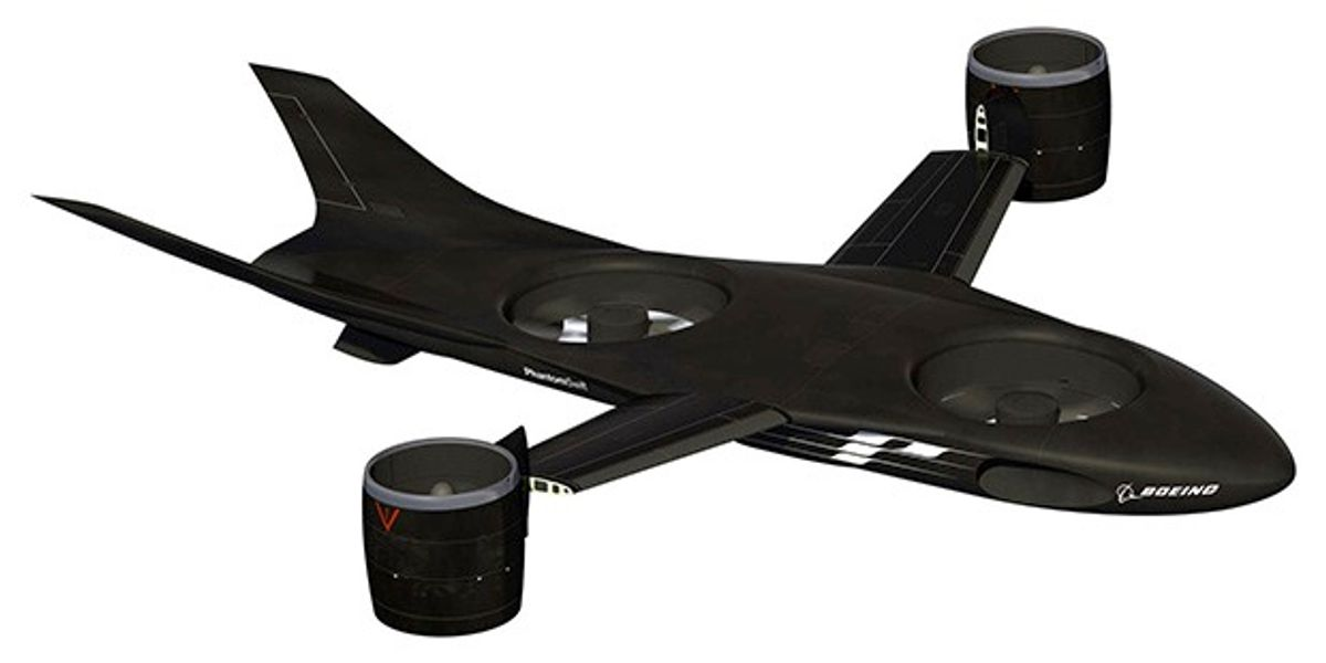 DARPA's Newest X-Plane Concepts Are All Robots