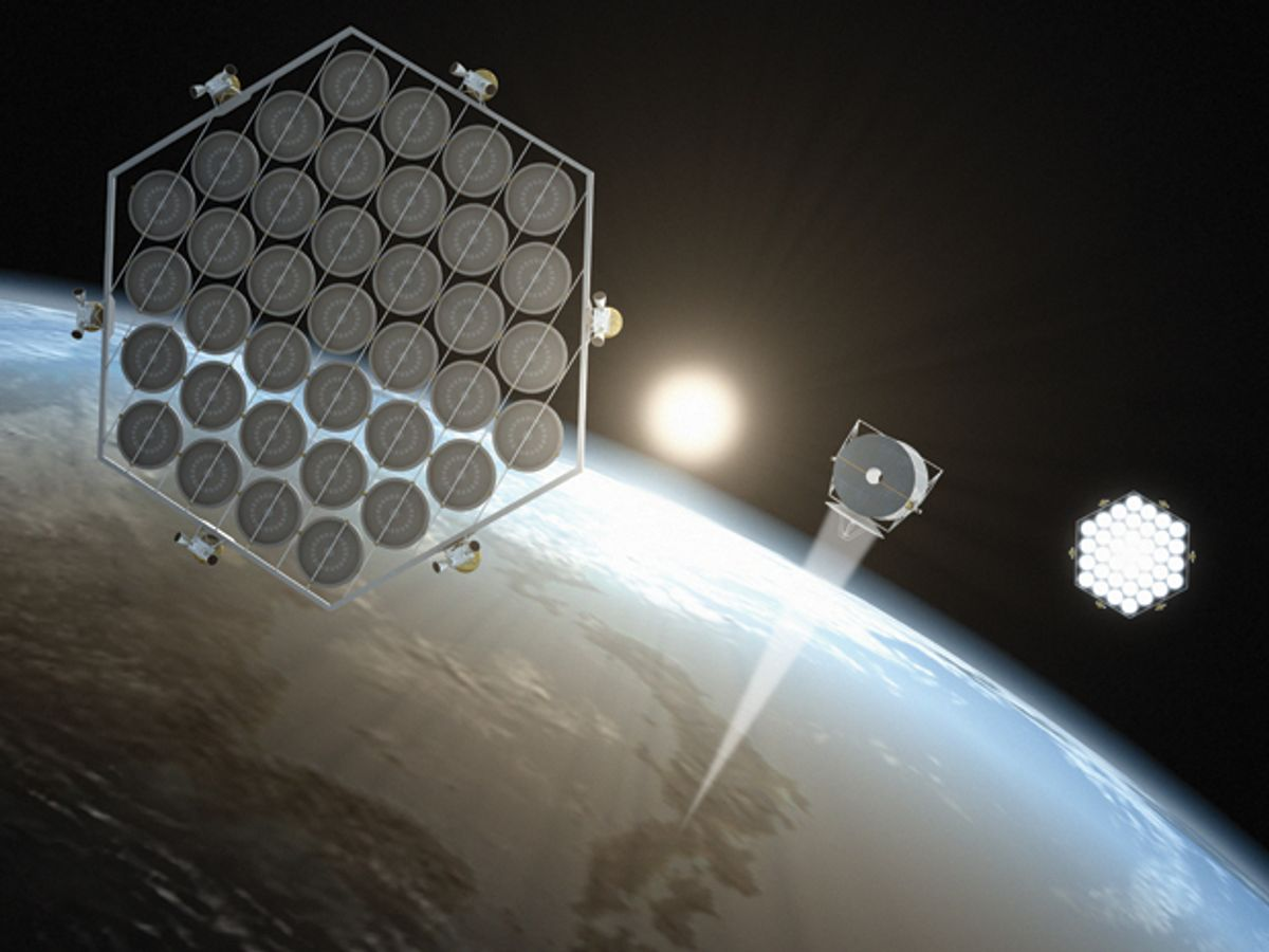 How Japan Plans to Build an Orbital Solar Farm