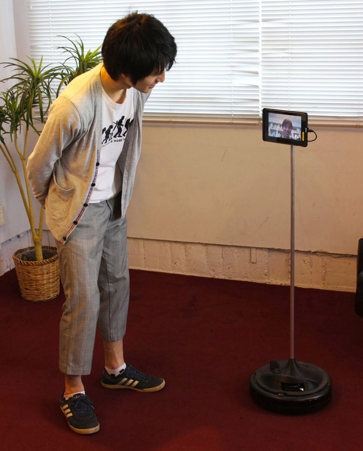 Telemba Turns Your Old Roomba and Tablet Into a Telepresence Robot