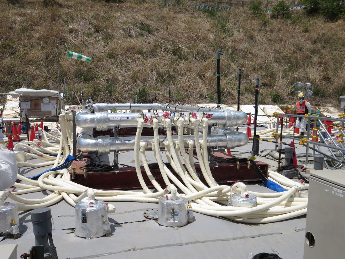 Construction of Ice Wall Begins at Fukushima Daiichi