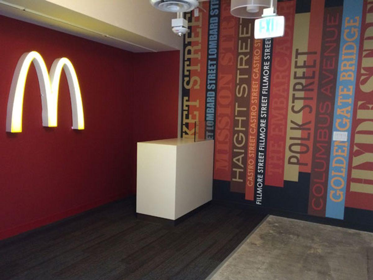 McDonald's Seeks That Market Street Mojo