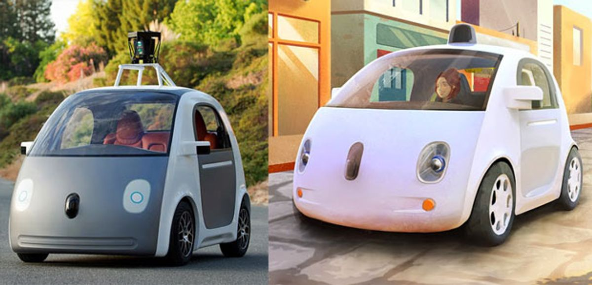 Google Is Building Its Own Self-Driving Car Prototypes