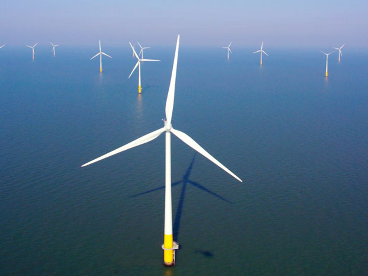 UK Approves World's Largest Offshore Wind Farm