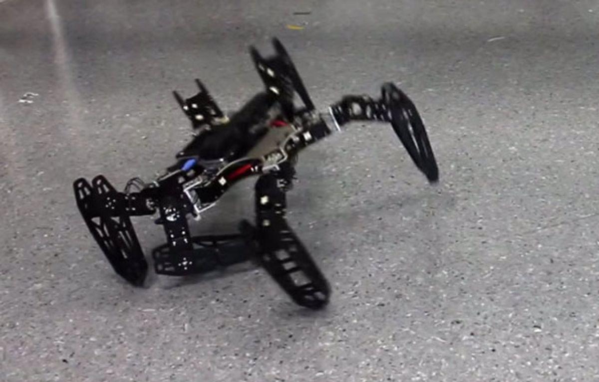 Hexapod Robot Gets Even Better at Being Indestructible
