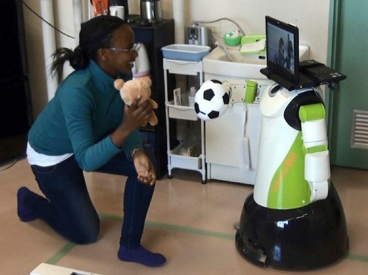 Do Telepresence Robots Need Arms?