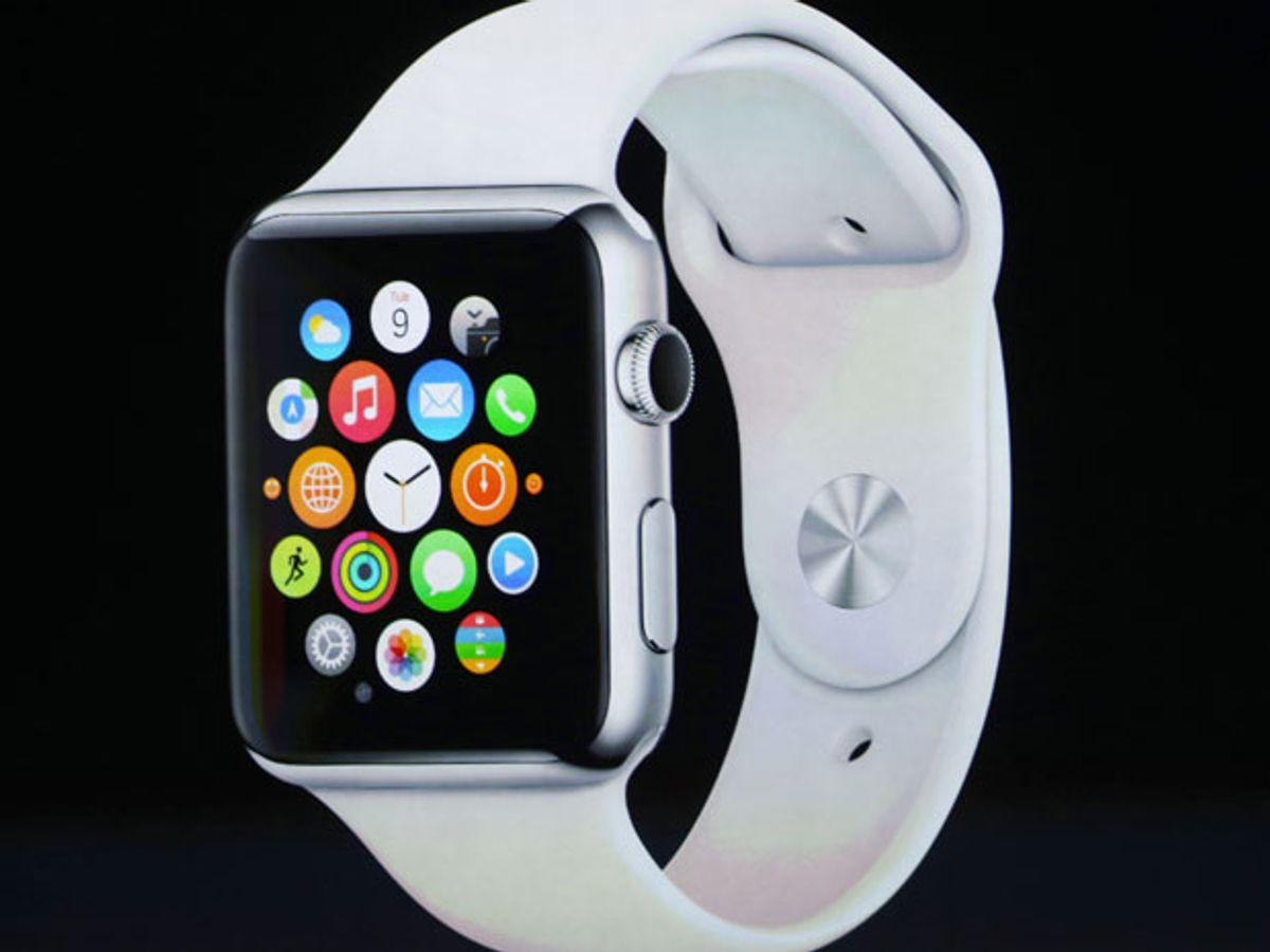 Apple Watch's Wristful of Sensors and MEMS
