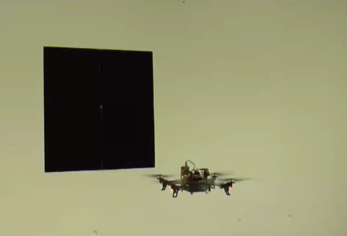 Dynamic Vision Sensors Enable High-Speed Maneuvers With Robots