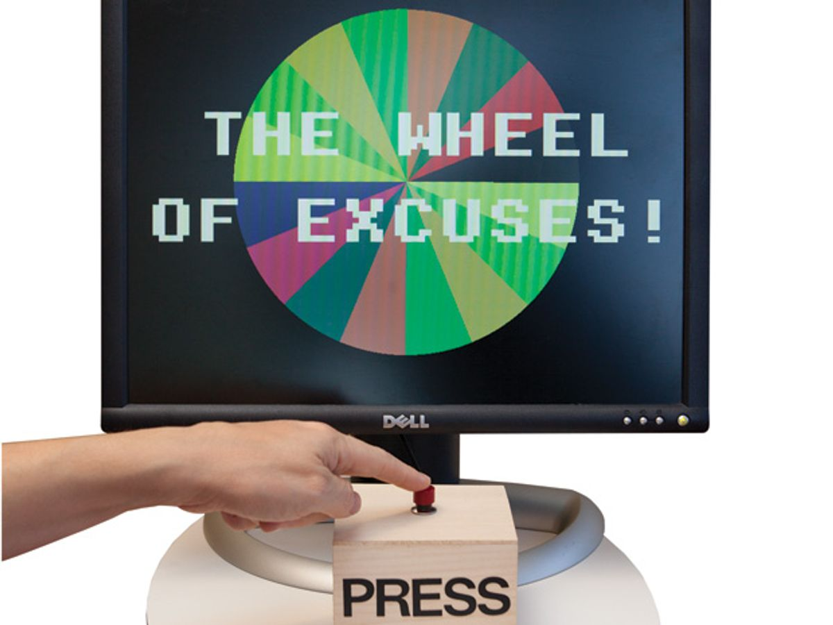 """Create a """"Wheel of Excuses"""" With BASIC and the New Raspberry Pi"""