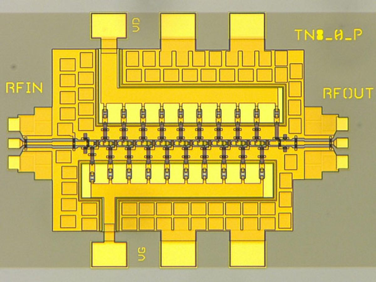 """First Terahertz Amplifier """"Goes to 11"""""""