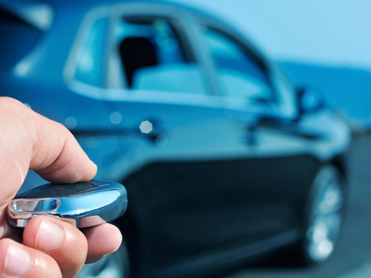 Car Thieves Use Handheld Electronics to Steal Keyless Cars