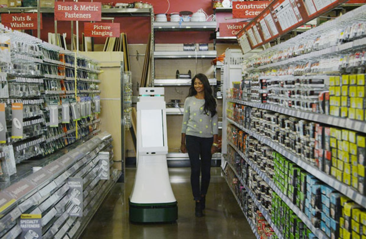 OSHbot Will Save You From Having to Ask for Help in a Hardware Store
