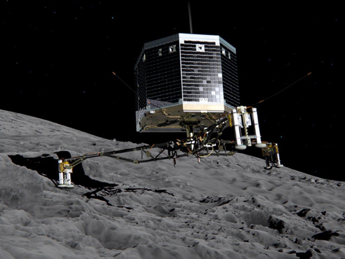 Rosetta's Comet Probe Has Landed