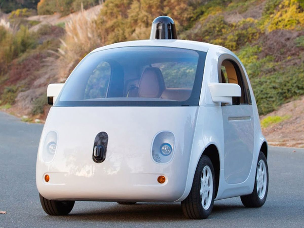 Google's Self-Driving Car Prototype Ready to Hit the Road