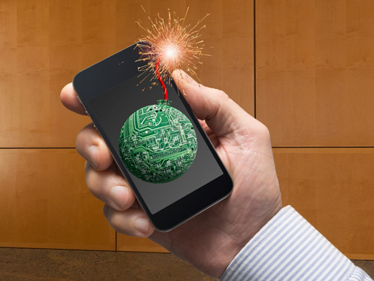 Cyber Espionage Malware Taps Smartphones, Sends Chills