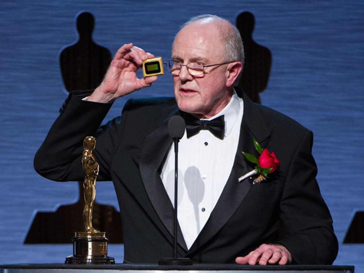 The Oscar Goes to… Engineer Larry Hornbeck and His Digital Micromirrors