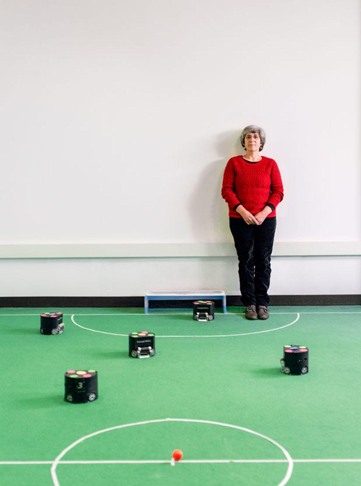Manuela Veloso: RoboCup's Champion