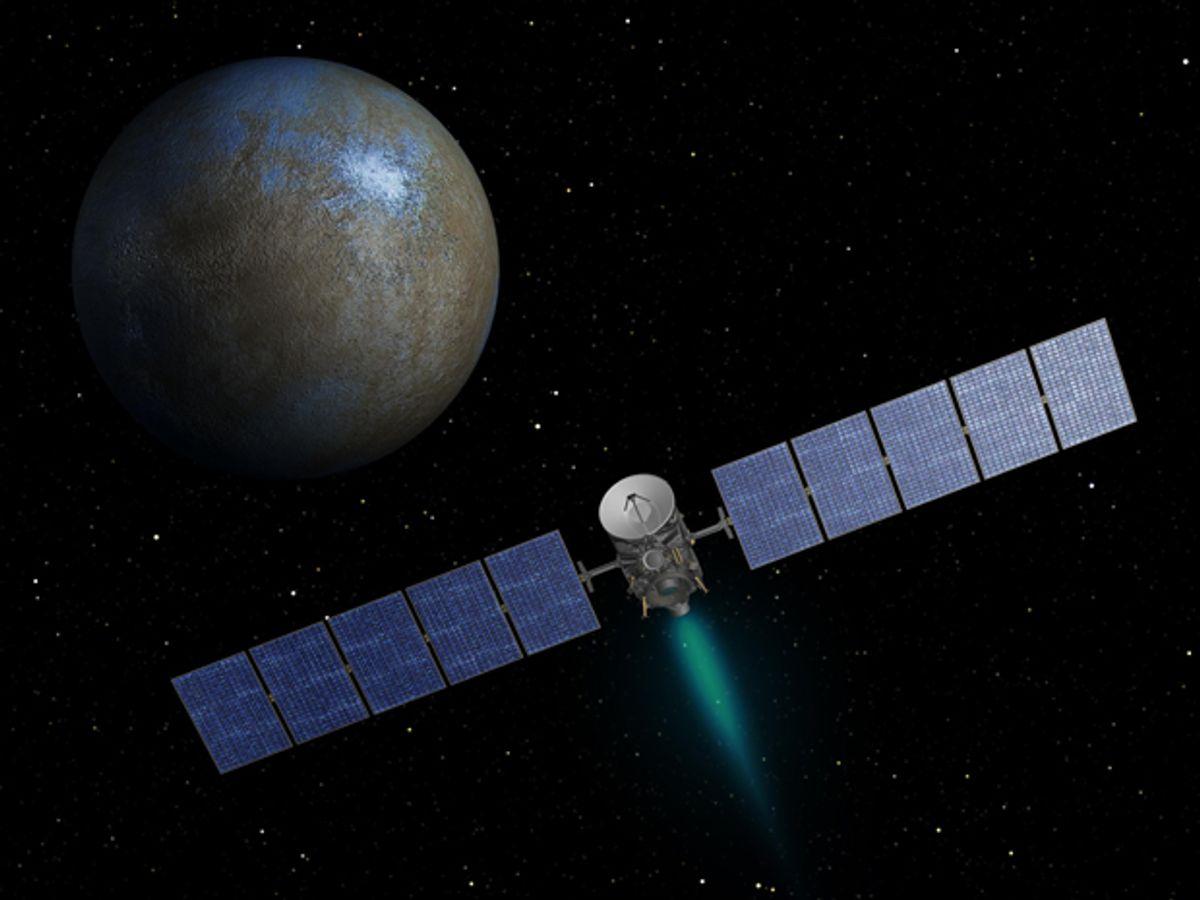 NASA's Dawn Makes History by Orbiting a Dwarf Planet