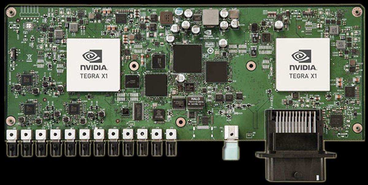 Nvidia Wants to Build the Robocar's Brain