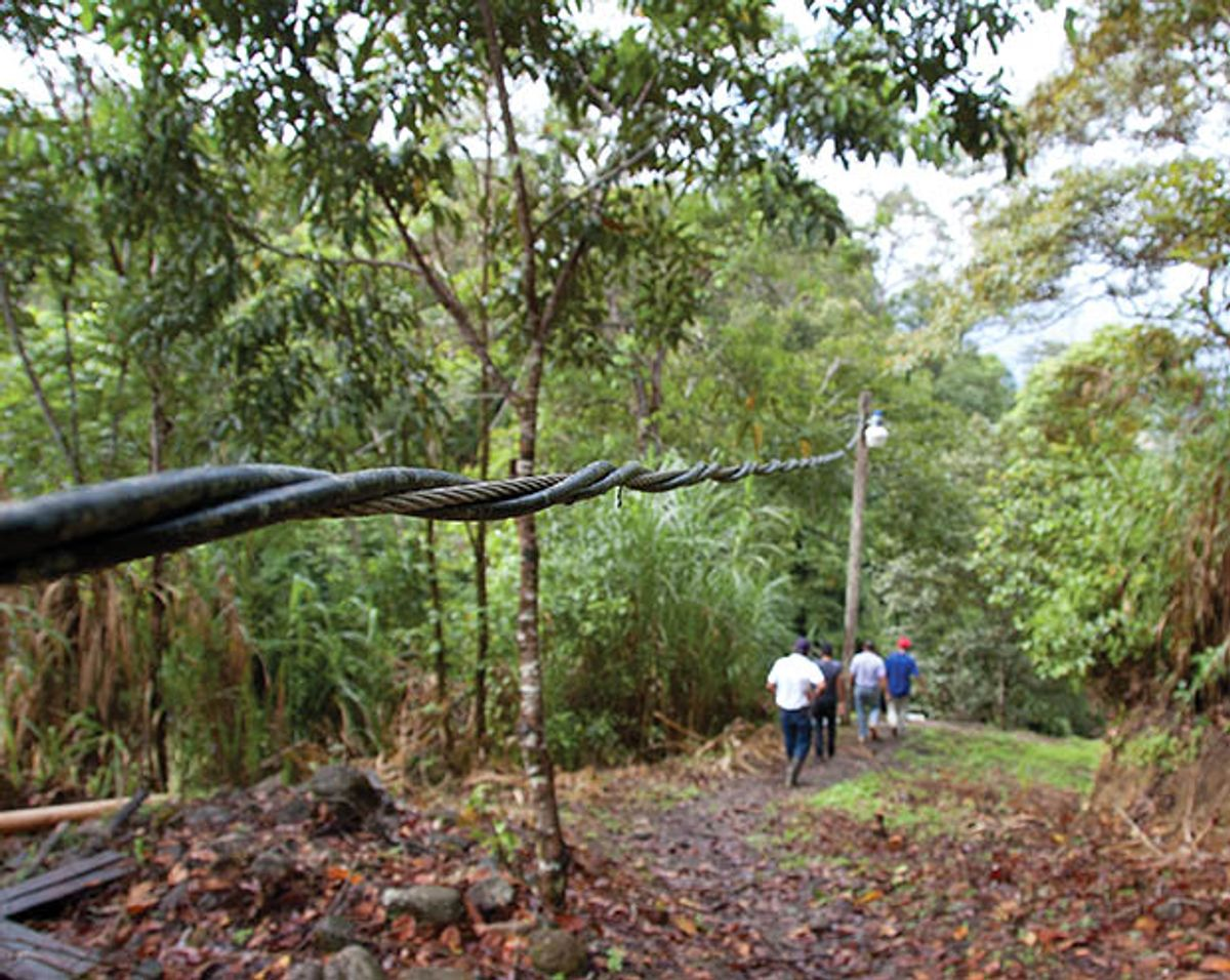 How Nicaraguan Villagers Built Their Own Electric Grid
