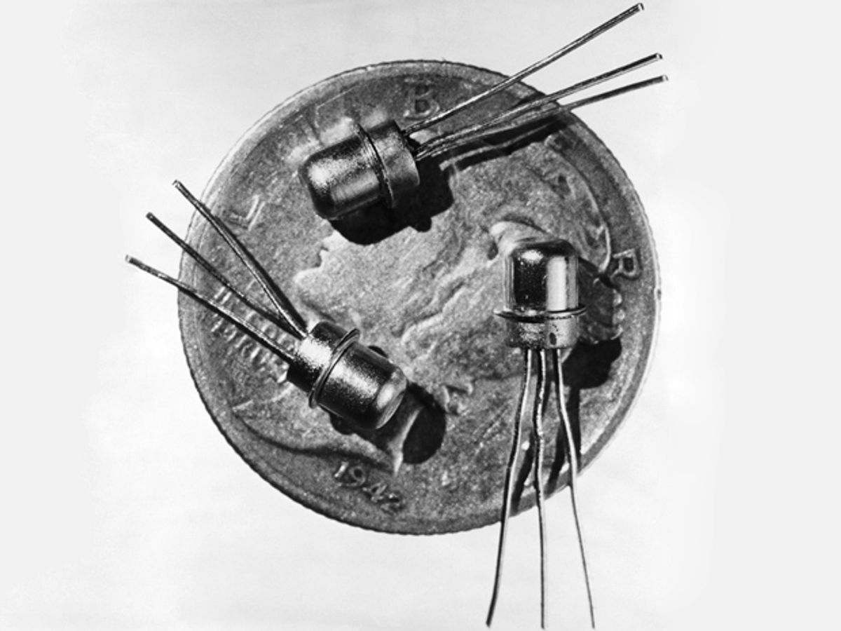 How Much Did Early Transistors Cost?