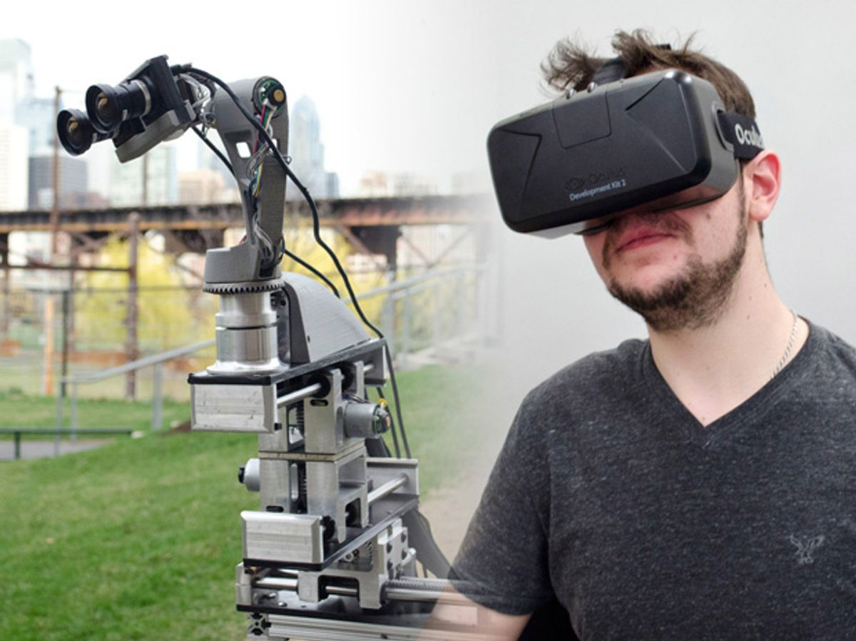 Oculus Rift-Based System Brings True Immersion to Telepresence Robots