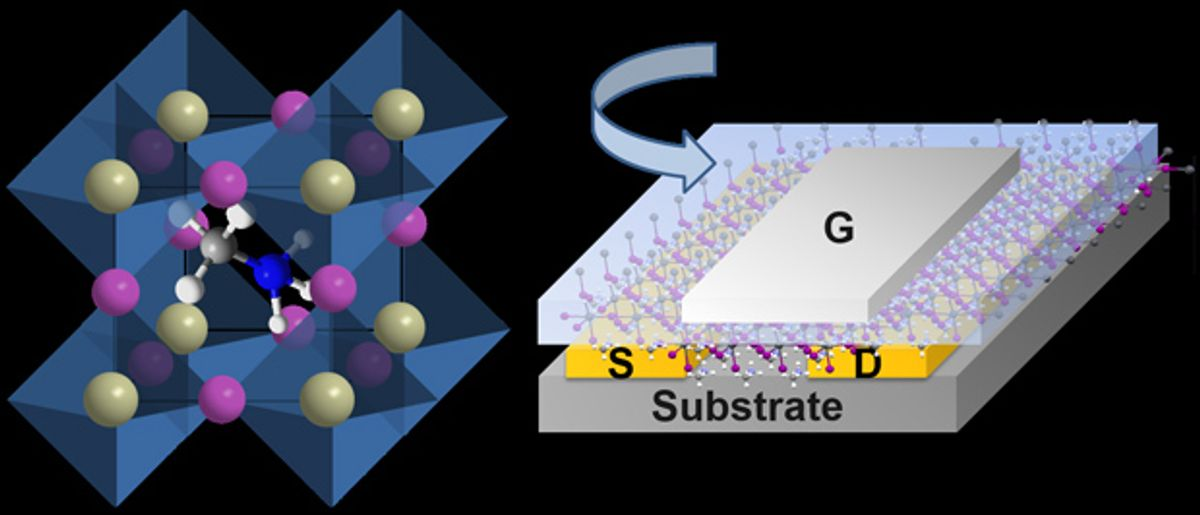 Perovskite Transistors Made for First Time