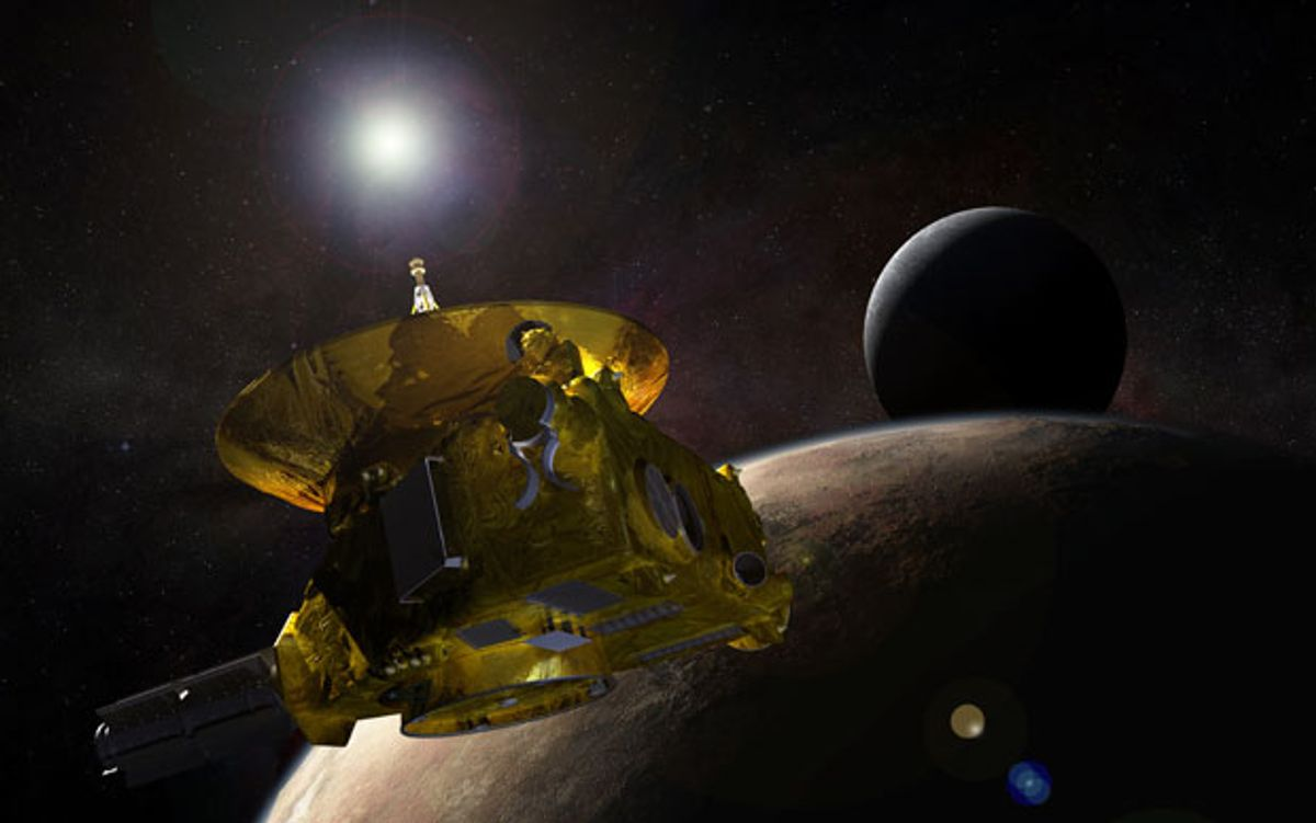 After a 9-Year Voyage, New Horizons Will Have Little Time to Measure Pluto's Atmosphere