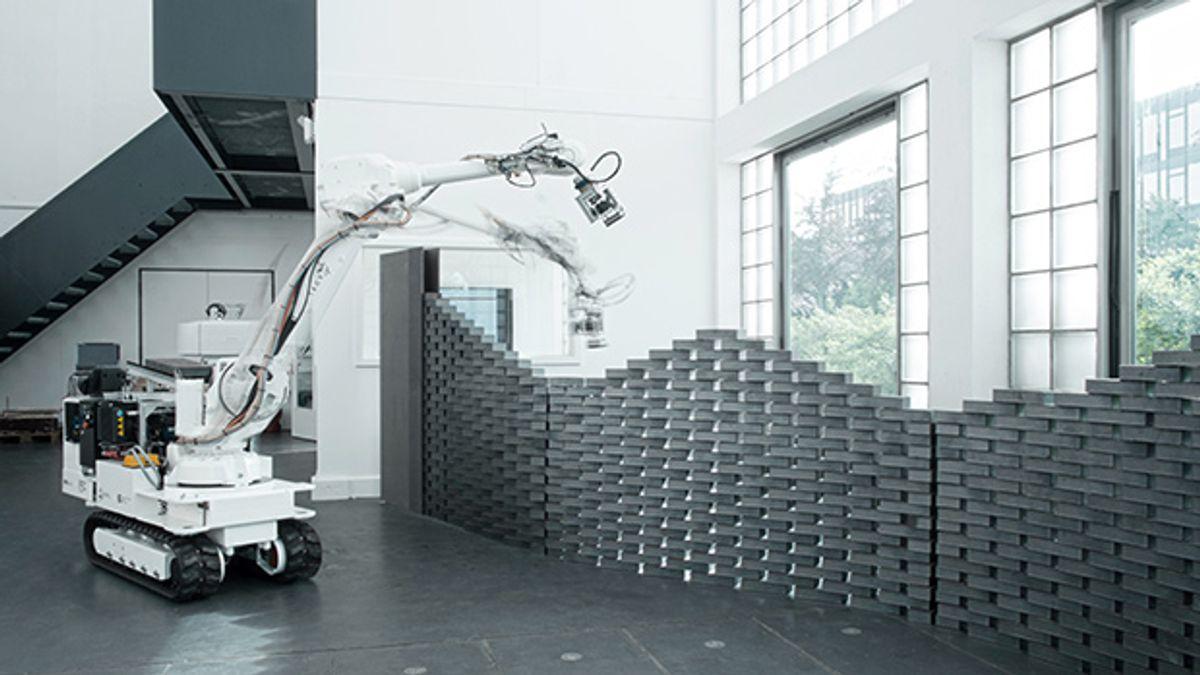 Robotic Construction Gets Fancy at ETH Zurich's Digital Fabrication Lab